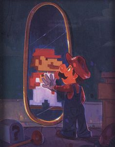 A view from the Past, Super Mario Bros.