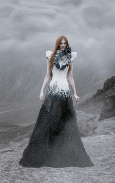Jvdas Berra - Vox Mortua 2. I really like this. I just am not sure about the feathers around the neck area.
