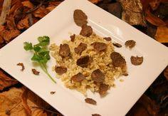 Truffle Recipes - Black Truffle Risotto Recipe
