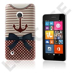 Persson (Anker Og Bowknot) Nokia Lumia 530 Deksel Shells, Phone Cases, Conch Shells, Clams, Seashells, Sea Shells, Phone Case