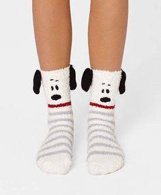 Snoopy socks.