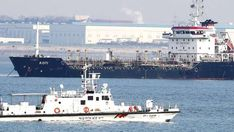 North Korea flouting sanctions, UN told  Panama-flagged ship suspected of transferring oil products to North Korea in violation of sanctions, in the sea off Pyeongtaek, South Korea, 1 January 2018: Inspections of ships have been stepped up, but the UN says more must be done