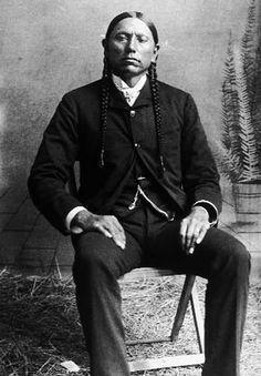 Commanche chief Quanah Parker - my family