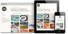 infinity responsive wordpress theme
