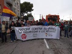 La Plataforma de parados de Jumilla ha participado en la marcha a Murcia contra los recortes, el paro y los desahucios