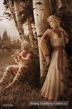 Скандинавская и славянская мифология в картинах Игоря Евгеньевича Ожиганова / Культурное наследие / Бэйбики. Куклы фото. Одежда для кукол: