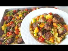 Turkish Recipes, Ethnic Recipes, Oven Vegetables, Kung Pao Chicken, Meat Recipes, Food And Drink, Fitness Photoshoot, Youtube Youtube, Educational Activities
