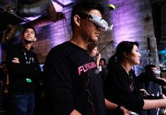 Drone Racing Seeks Attention With a Speedy Flyby