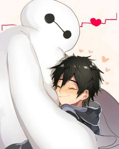 Big Hero Disney movie about Hiro, a determined boy with genius level IQ, and a lovable robot called Baymax. Big Hero 6 Film, Big Hero 6 2, Best Disney Animated Movies, Disney Movies, Disney And Dreamworks, Disney Pixar, Baymax, Disney Fun, Disney Stuff