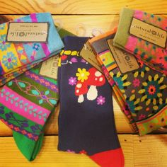 Natural Life socks that will brighten any day!! #patterns #cozy #naturallife