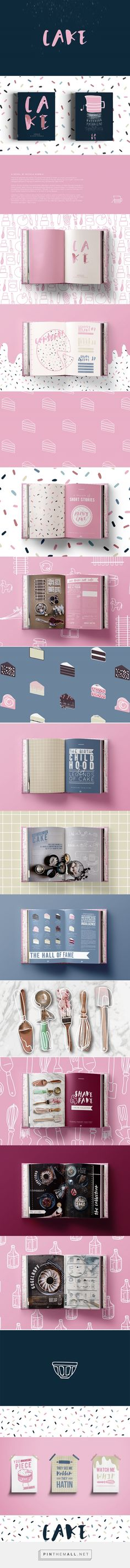 Cake Novel Redesign by Alanna V Walsh | Fivestar Branding Agency – Design and Branding Agency & Curated Inspiration Gallery #designinspiration #graphicdesign #fivestarbrandingagency