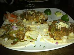 The marinated pork tacos at Market Garden Brewery in Cleveland's Ohio City neighborhood