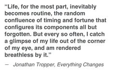 Jonathan Tropper - Everything changes