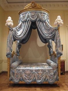 Bed French (Paris), about 1775-80  The Getty Center, Decorative Arts