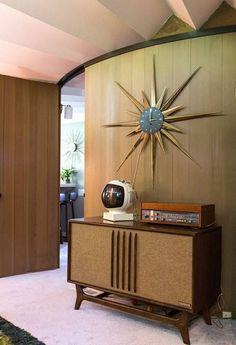 Mid-century living room
