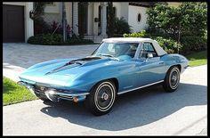 S151 1967 Chevrolet Corvette Convertible 427/435 HP