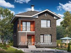 """""""Серебро"""" - современный экономичный дом для небольшой семьи"""