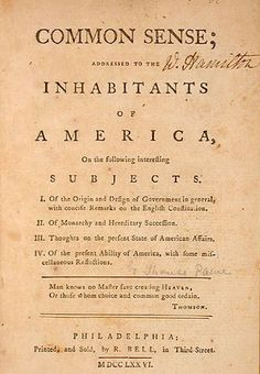United states declaration of independence knowledge base common sense by thomas paine so men either think im intense or im insane you want a revolution i want a revelation so listen to my declaration we publicscrutiny Gallery