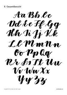 Der Brush Lettering Guide für Anfänger! Dir gefällt der Brush Lettering Schriftstil? Du willst selbst Texte mit dem Pinselstift schreiben und Karten damit verzieren? Du weißt aber nicht, wie die Buchstaben genau aussehen sollen? Dann lade dir den #letterattack Brush … Weiterlesen →