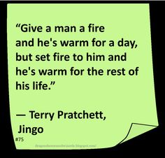 ♥ Terry Pratchett ♥ ~ cracks me up and yes, yes I am on the twisted side :)