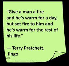 ♥ Terry Pratchett ♥ ~ #Quote #Author #Humor