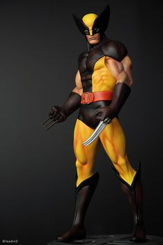 Wolverine Brown   Statue   Bowen Designs Marvel Comics
