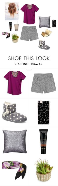 """""""pajamas"""" by pauline02 ❤ liked on Polyvore featuring Vera Bradley, rag & bone, Casetify, Lancôme, Dolce&Gabbana and Allstate Floral"""