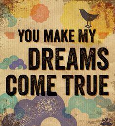 You Make My Dreams Come True Wedding Singer Tbrb Info