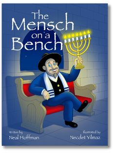 For all the Jewish kids that were jealous of Elf on a Shelf..... Meet Moshe, the mensch on a bench.