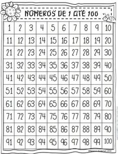 100 Chart Puzzles (First Grader. 100 Chart, Number Worksheets, Stem Science, Math Class, Number Sense, Teaching Math, Kids Learning, Activities For Kids, The 100