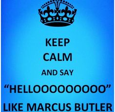 I want to marry Marcus Butler