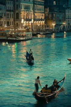 Venecia at night