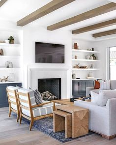 80 Best Furniture For Modern Farmhouse Living Room Decor Ideas (26)