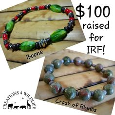 Thanks to everyone who helped spread the word about our new Boone The Rhino design and bought one of our #rhino bracelets yesterday. We raised $100 for @5rhinos in only 1 day!  That's what we call #makingadifference   #TeamRhino #EndExtinction