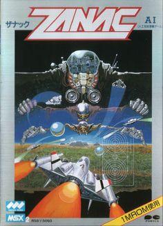 Zanac for MSX2.