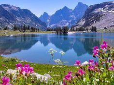 Lake Solitude, Grand Teton Nemzeti Park - Legnagyobb letölthető méretek: 1600x1200 és 1680x1050 - Rock, feltöltve: 2010. jún. 29. (g,h,n,t,t...