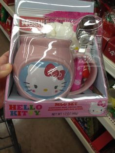 Hello Kitty Mug & Hot Chocolate package from Wal-mart