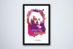 Vertical Framed Poster Mockup