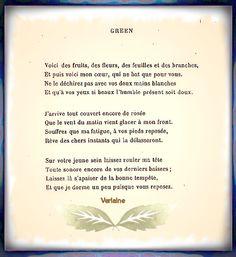 Poème de Paul Verlaine (1844 - 1896)