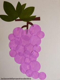 El profesor de la clase Valentina: MUCHAS racimos de uvas