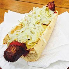 Hot Dog in Prague, Czech Republic. #prague #czechrepublic