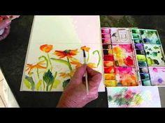 WATERCOLOR FLOWERs by Valerie Weller