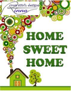 Home Sweet Home Sampler www.cross-stitchdownloads.com