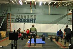 our crossfit gym