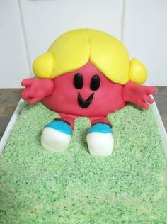 Lick The Spoon: Little Miss Chatterbox Cake and rolled fondant recipe