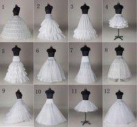 120feefc58fc Commandez 12 Style White A-Line Hoop Hoopless Short Crinoline Petticoat .  Maggiori informazioni. Maggiori informazioni. Abito da  sposa e cerimonia  ...