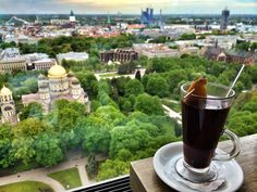 11 Things You Must Do in Riga, Latvia - Flirting with the Globe Sky Bar, Riga Latvia, During The Day, You Must, Budapest, Rooftops, Croatia, Melbourne, Travelling