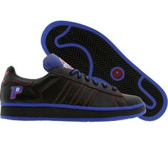 new style 3979c f9f6e Adidas Campus II - Detroit Pistons (black1  blusld) 044353 - 64.99 80s  Shoes