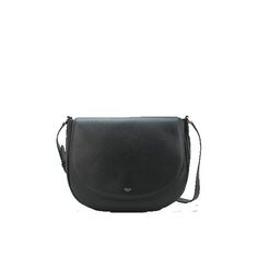 e17fcfbd29 Celine Trotteur Handbag Natural Calfskin Leather 174053 Black. Bags Online  ShoppingCeline Bag