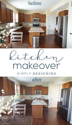 Kitchen Reveal before and after | Simply Designing